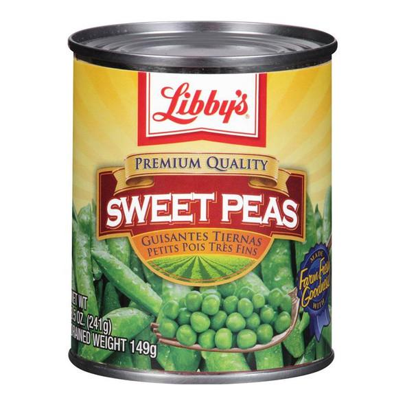 LIBBY'S SWEET PEAS 8.5oz 241g