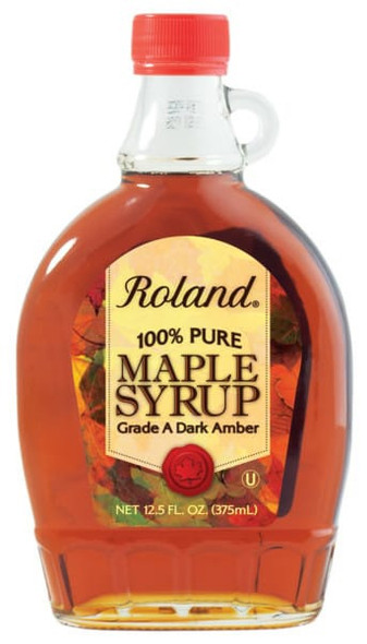 ROLAND 100% PURE MAPLE SYRUP 12.5oz 370ml