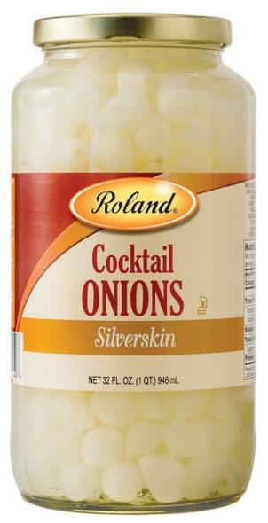 ROLAND COCKTAIL ONIONS SILVERSKIN 32oz 946ml
