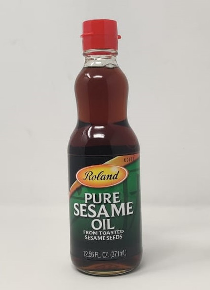 ROLAND PURE SESAME OIL FROM TOASTED SESAME SEEDS 12.56oz 371ml