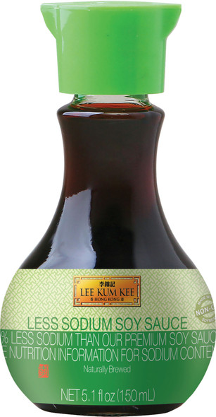 LEE KUM KEE LESS SODIUM SOY SAUCE 5.1oz 150ml