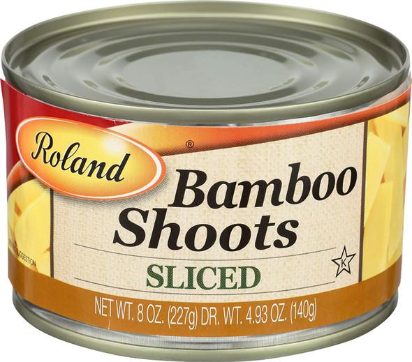 ROLAND BAMBOO SHOOTS SLICED 8oz 227g