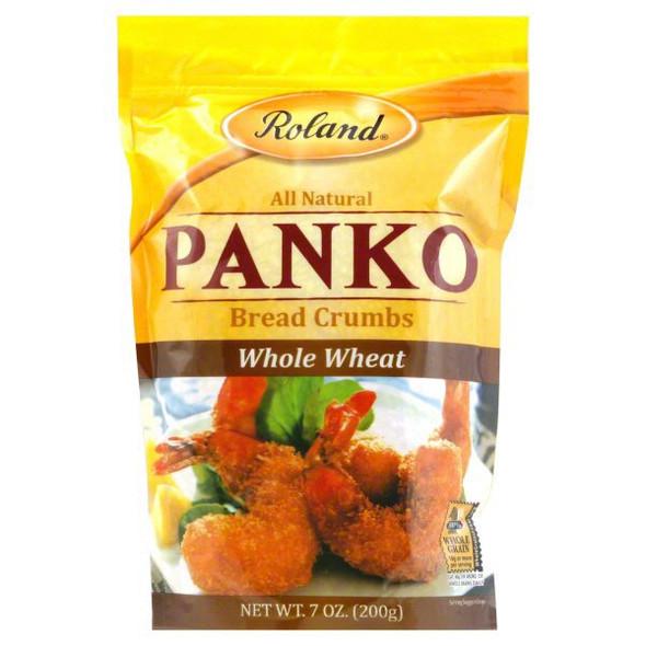 ROLAND PANKO BREAD CRUMBS WHOLE WHEAT 7oz 198.4g