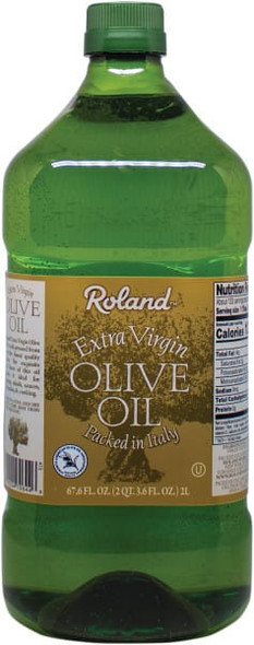 ROLAND EXTRA VIRGIN OLIVE OIL PACKED IN ITALY 67.6oz 2L