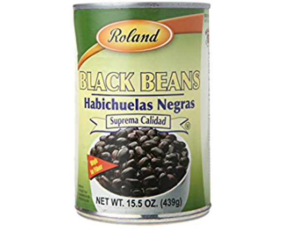 ROLAND BLACK BEANS 15.5oz 439g