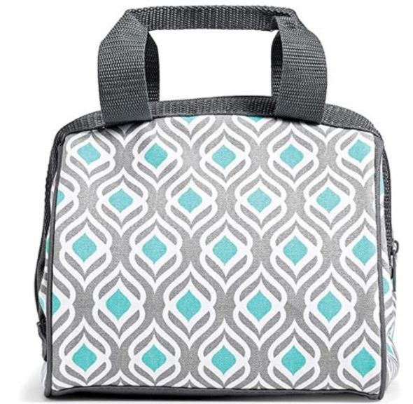 """Bag Fit & Fresh Charlotte Insulated Lunch Bag for Women, 9"""" x 6"""" x 8"""""""