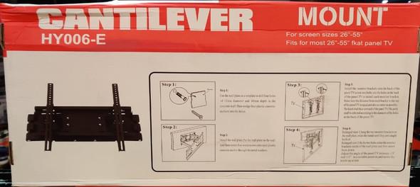 "TV WALL BRACKET 26""-55"" CANTILEVER HY006-E"