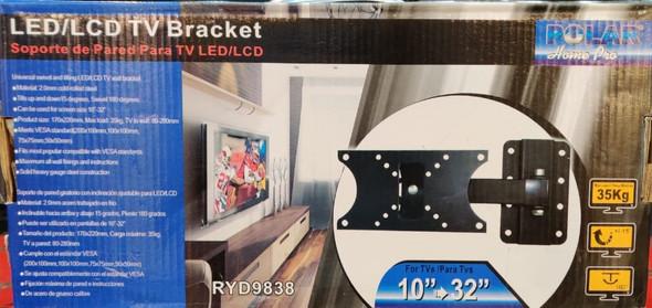 """TV WALL BRACKET 10"""" - 32"""" POLAR RYD9838"""