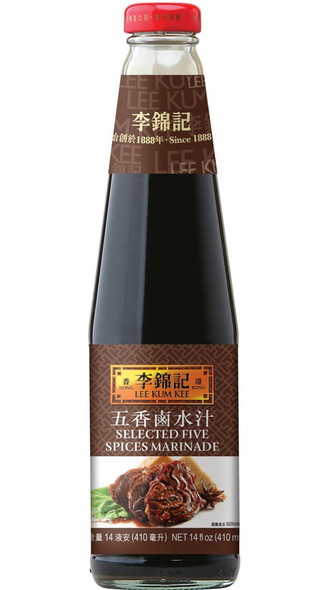 LEE KUM KEE SELECTED FIVE SPICES MARINADE 14oz 410ml