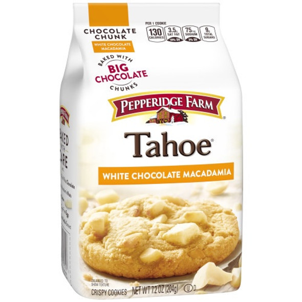 PEPPERIDGE FARM TAHOE MILK CHOCOLATE MACADAMIA 7.2oz 204g