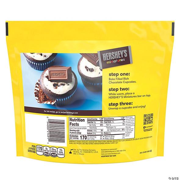 HERSHEY'S MINIATURES CHOCOLATE CANDY 8oz 226g
