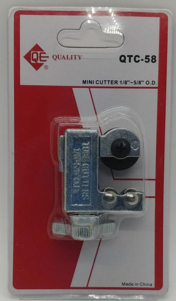 "TUBE CUTTER MINI 1/8""-5/8"" #QTC-58 QE"