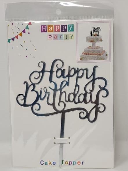 PARTY CAKE TOPPER HAPPY BIRTHDAY ZH32