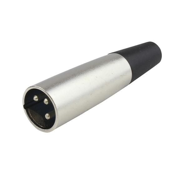 PLUG XLR MALE NICKLE I-SVP555 3-PINS