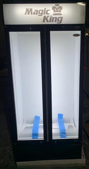 COOLER UPRIGHT MAGIC KING SC-488LP DOUBLE DOOR
