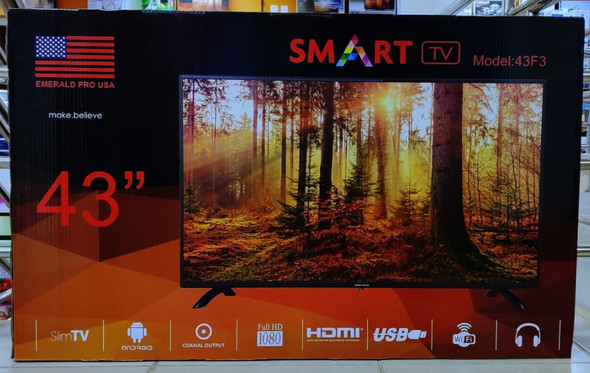 "TELEVISION EMERALD 43"" 43F3 SMART LED"