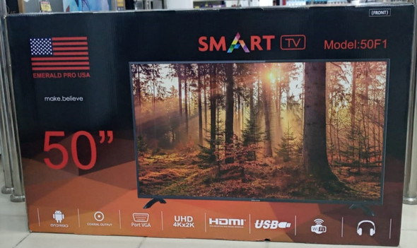 "TELEVISION EMERALD 50"" 50F1 SMART LED"