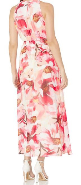 Dress Floral Maxi Peach Nine West