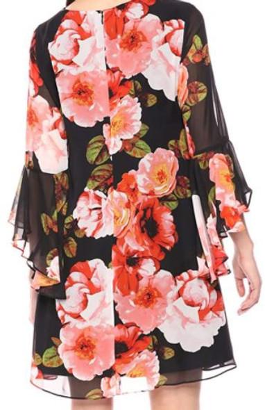 Dress Nine West Shift Cascading sleeve size 4