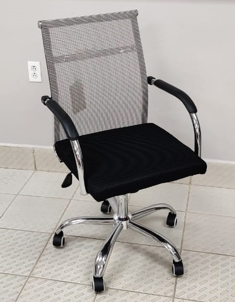 CHAIR OFFICE WITH ARM REST 222A (A222B)