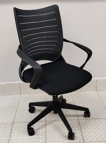 CHAIR OFFICE WITH ARM REST U-002