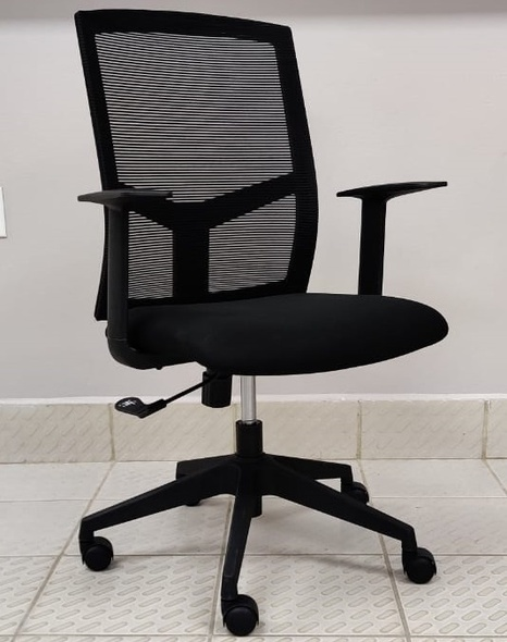 CHAIR OFFICE WITH ARM REST H-011B