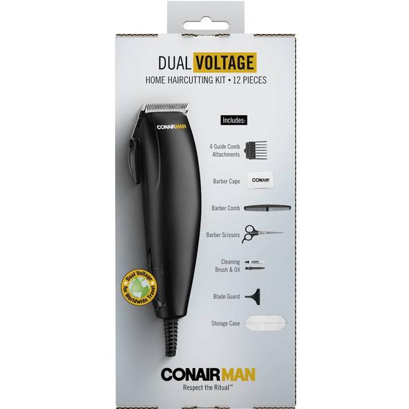 HAIR CUTTING KIT CONAIR HC102R 12PCS KIT
