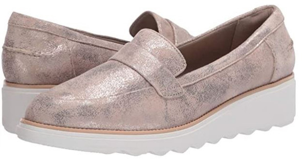 Footwear Clarks Women's Sharon Gracie Penny Loafer Blush