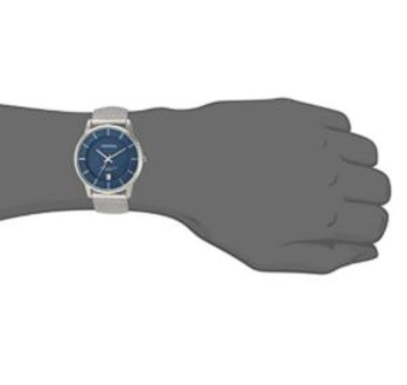 Watch Armitron Men's Date Function Mesh Bracelet Blue