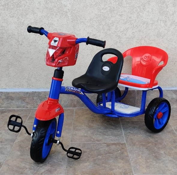 TRICYCLE 3 WHEEL TR02 Y-TS5587 2 SEATER WITH MUSIC