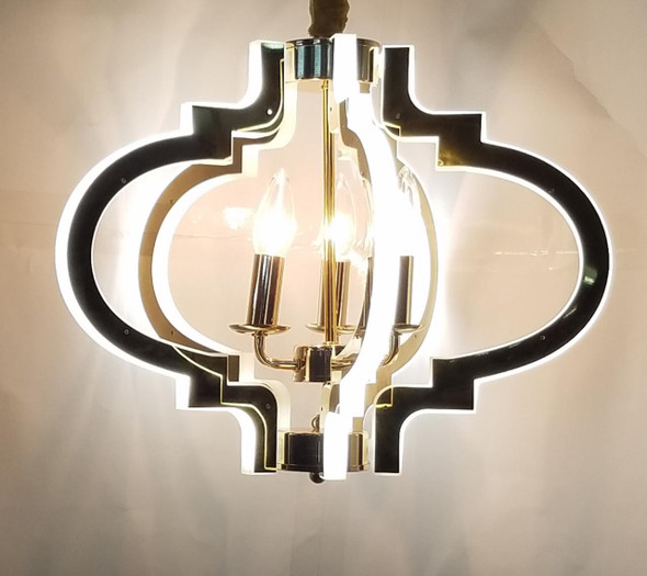 CHANDELIER LED 7009-5 with REMOTE CONTROL