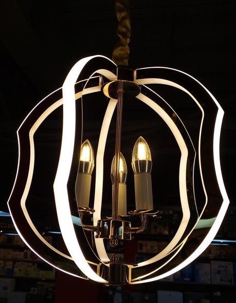 CHANDELIER LED 7007-5 with REMOTE CONTROL