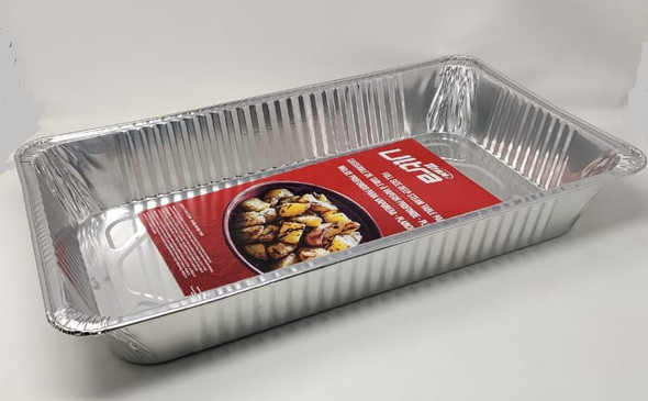 "FOIL TRAY TITAN ULTRA BZ92019R FULL SIZE DEEP STREAM TABLE PAN 19.5X11.75X3.125"" 49.5X29.8X7.9CM"
