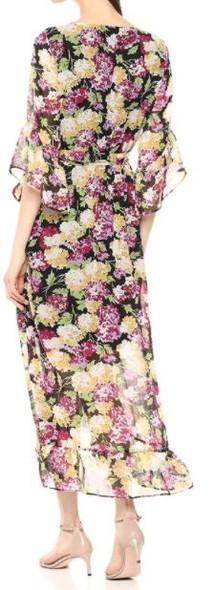 Dress Nine West Floral Faux Wrap