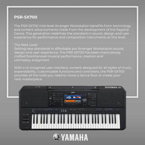 KEY BOARD YAMAHA PSR-SX700