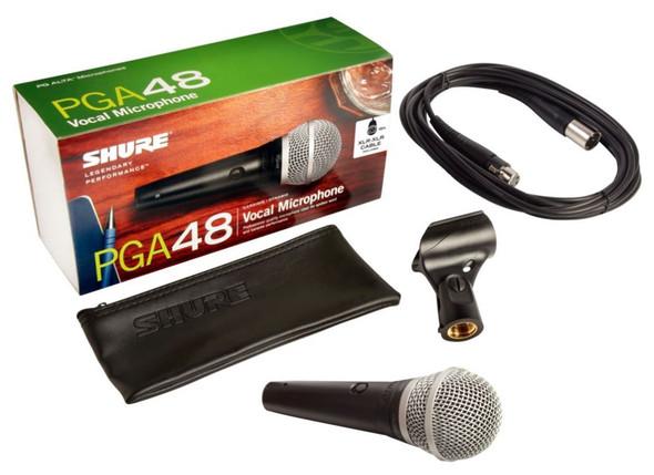 MICROPHONE SHURE PGA-48 XLR