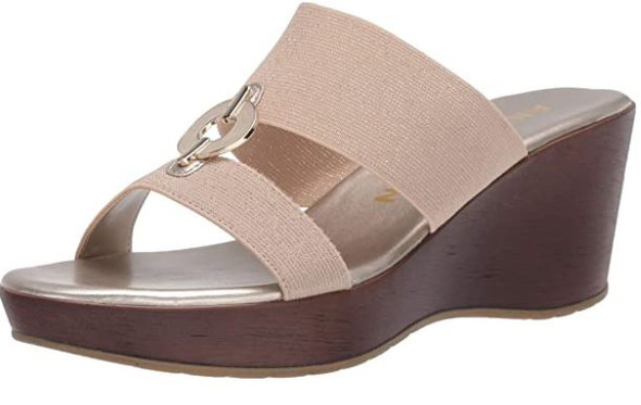Footwear Anne Klein Women's Wedge Pump Natural