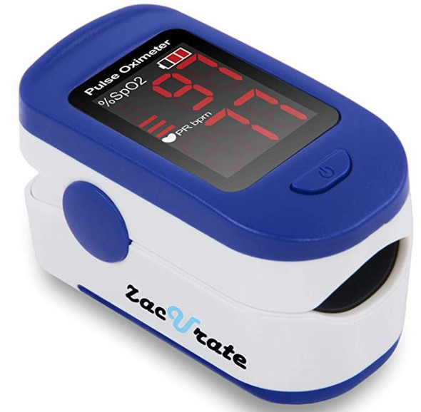 Oximeter Blood oxygen saturation monitor Zacurate