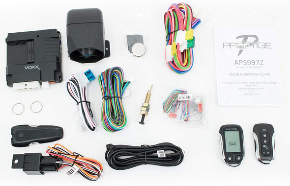 CAR ALARM PRESTIGE APS997Z LCD