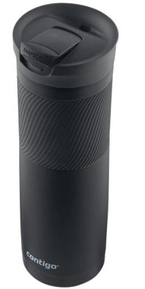Travel Mug Contigo  Vacuum-Insulated Stainless Steel 24oz Black
