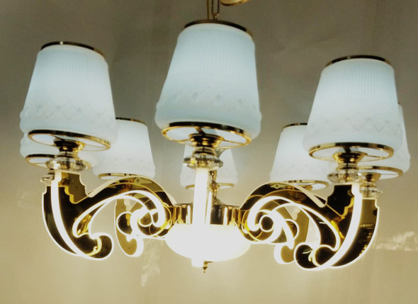 CHANDELIER LED 69005-8 with REMOTE CONTROL
