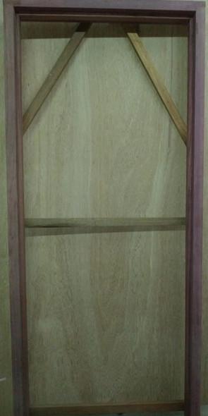 """DOOR FRAME PURPLE HEART FITS 32""""X 80"""""""