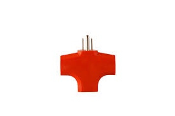 ADAPTER SPLITTER 3 OUTLET CUBE PLUG GG-3406OR GO GREEN