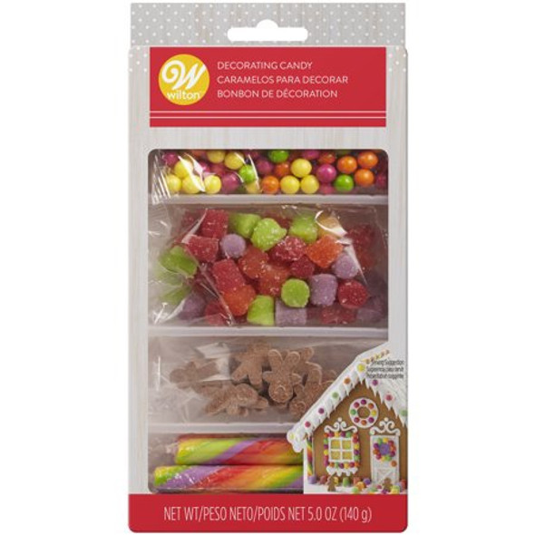 BAKING WILTON ICING DECORATIONS GINGERBREAD 5oz 140g 710-3486