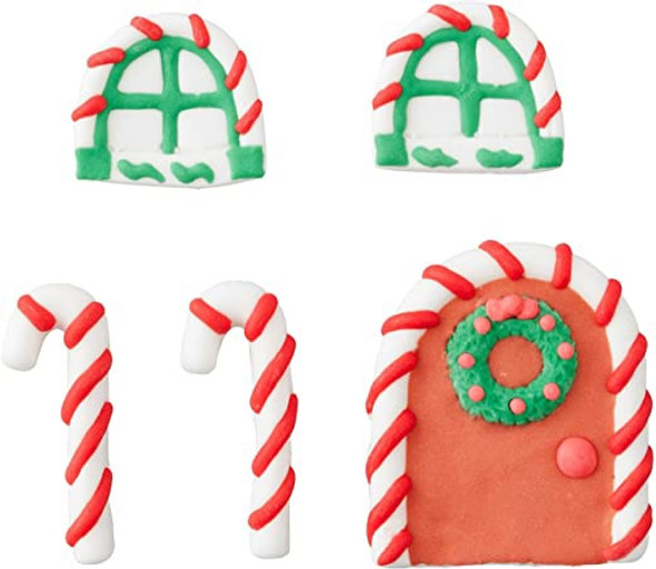 BAKING WILTON ICING DECORATIONS GINGERBREAD  .4oz 13g 710-5813