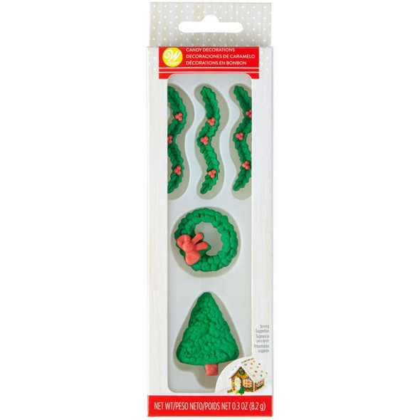 BAKING WILTON ICING DECORATIONS GINGERBREAD .3oz 8.2g 710-5809