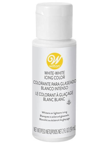 BAKING WILTON ICING COLOR (COLOUR) WHITE-WHITE 59ML 03-640