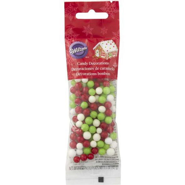 BAKING WILTON ICING DECORATIONS CANDY PEARLS 1.5oz 42g 710-5822