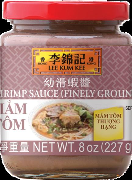 LEE KUM KEE SHRIMP SAUCE (FINELY GROUND) MAM TOM 8oz 227g