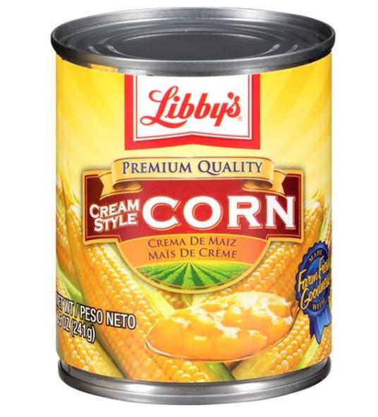 LIBBY'S CREAM STYLE CORN 14.75oz 418g